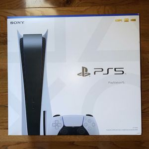 PS5-Sealed Disk Version for Sale in Los Angeles, CA