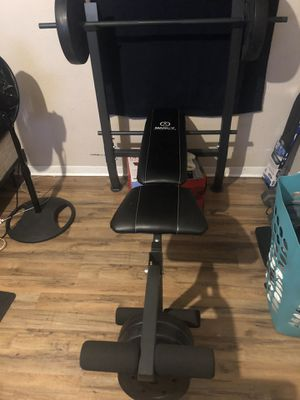 100 LB weight bench for Sale in Pasadena, TX