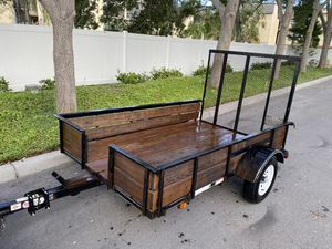 5x8 Utility Trailer & Motorcycle Trailer for Sale in Indian Rocks Beach, FL