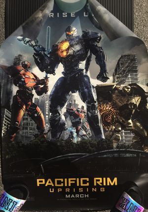 Pacific Rim Uprising Theatrical Poster for Sale for sale  Fort Lauderdale, FL