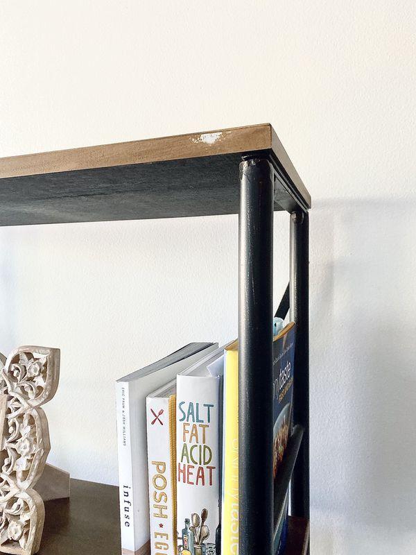Industrial Bookshelf From Threshold Target