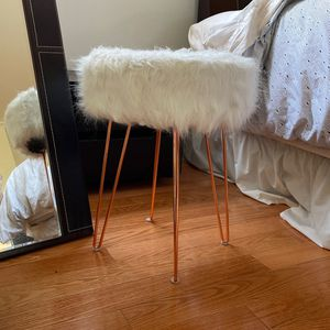 Fuzzy Stool for Sale in Calabasas, CA