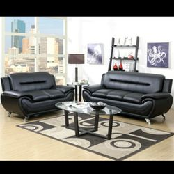 2 Piece LIVING ROOM SET Sofa Loveseat 🔴$39 DOWN Payment Only 100 DAY same as cash for Sale in Philadelphia,  PA