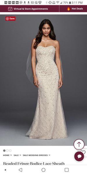 Wedding Dress Davids Bridal Galina Signature for Sale in Castle Rock, CO