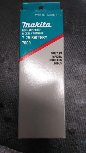 Makita 7.2 v batterys for Sale in Houston, TX