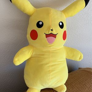 Large 24 Inch Pikachu Plush for Sale in Renton, WA