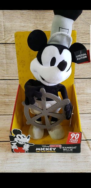 Disney Mickey steamboat Willie special edition plush toy for Sale in Temecula, CA