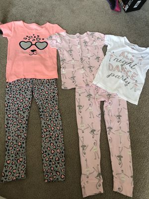 Carters size 5 pajamas for Sale in Easley, SC