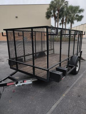 Nice utility trailer 5x10 with 4 ft side for Sale in Jupiter, FL