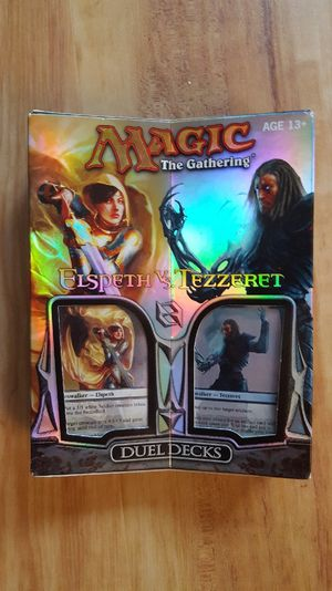Magic the Gathering: Elspeth vs Tezzeret Dual Decks *factory sealed* original for Sale in Chicago, IL