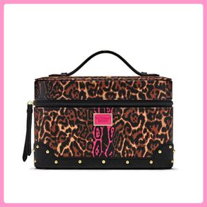 New Victoria's Secret Leopard Vanity Makeup Case for Sale in Brea, CA