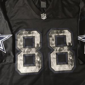 """Reebok NFL Dez Bryant 88 Black United Premier Jersey Dallas Cowboys. Condition is """"pre-owned"""". No rips, tears, stains. Sewn on numbers. Please see ph for Sale in Springfield, VA"""