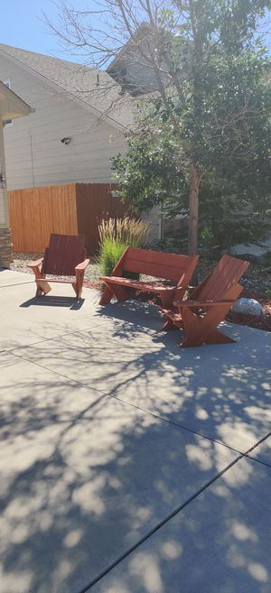 Patio/Fire Pit Adirondack for Sale in Colorado Springs, CO
