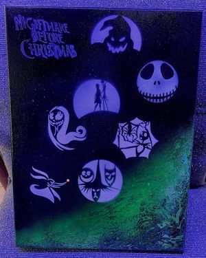 Nightmare before Christmas Abstract art for Sale in New Port Richey, FL