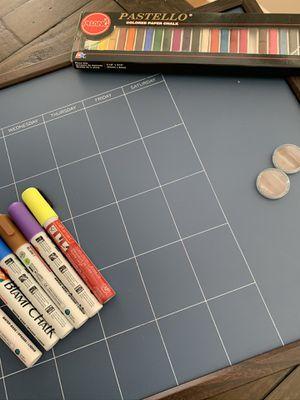 Target Chalkboard Calendar for Sale in Holly Springs, NC