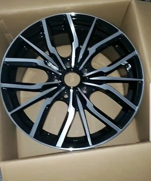 """17x7.5"""" 5x114.3 Custom Wheels/Rims - SET of 4 - Machined Black - NEW! for Sale in Puyallup, WA"""