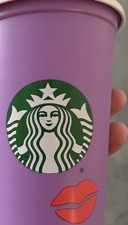 Starbucks Purple Lips Hot Reusable Cup for Sale in Houston,  TX