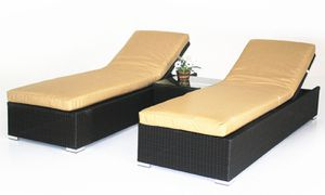 Outdoor patio furniture chaise lounge for pool side for Sale in Rancho Cucamonga, CA