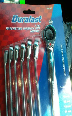 Duralast 7pc ratcheting wrench set for Sale in Las Vegas, NV