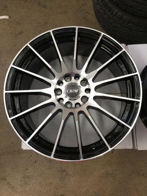 "Brand New 18"" Inch Diablo D15 Black Mahcined 18X8 Wheels Rims Rines 5X112 5X4.41 5X114.3 5X4.5 Kia for Sale in Austin, TX"