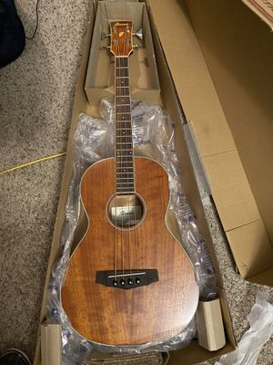 Ibanez PNB14E Parlor Acoustic-Electric Bass Guitar Natural for Sale in Belleair, FL