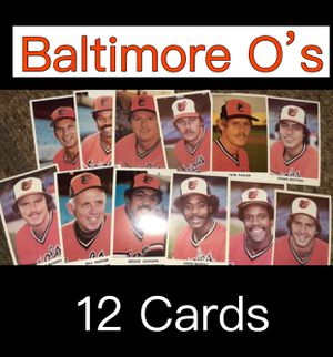 12 Portrait Baseball Cards COLLECTORS CARDS for Sale in Pomona, CA