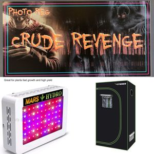 2 Led grow lights tent and 6 pack of photoreg stickers for Sale in Lincoln Park, MI