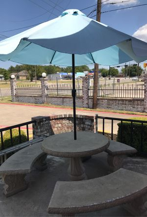 Stone patio furniture for Sale in Fort Worth, TX