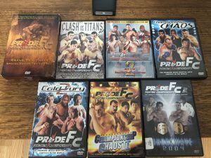 Pride FC DVDs for Sale in Roseville, CA