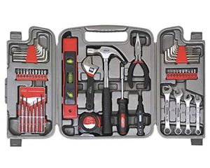 Apollo Tools DT9408 53 Piece Household Tool Set with Wrenches, Precision Screwdriver Set and Most Reached for Hand Tools in Storage Case for Sale in Brooklyn, NY