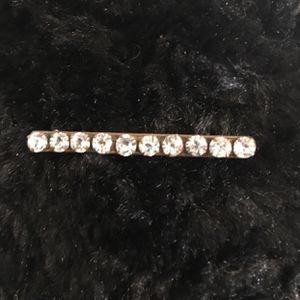 Antique Edwardian clear rhinestone brooch pin for Sale in Henderson, NV