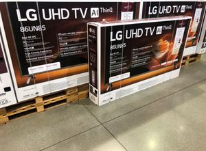 "86"" LG UHD TV Al THINQ smart 4K TVs for Sale in Perris, CA"