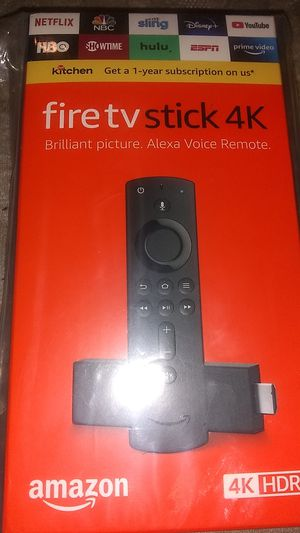 BRAND NEW Amazon Fire TV Stick 4K w/Alexa Voice Remote -Latest Version for Sale in Hampton, VA