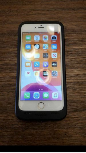 Sprint iPhone 6s Plus 64GB with Mophie case for Sale in Overland Park, KS