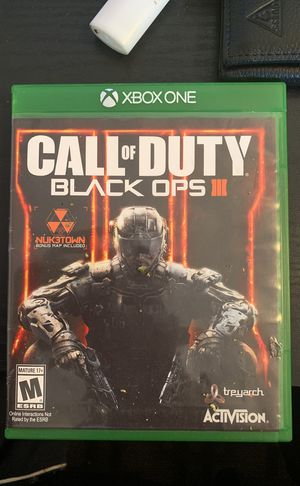Black Ops 3 (Xbox One) for Sale in Knoxville, TN