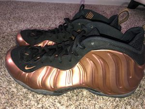 Nike Air Foamposites Metallic Copper men's SZ 13 for Sale in Phoenix, AZ