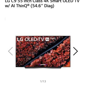 55' LG C9 OLED TV for Sale in Bend, OR
