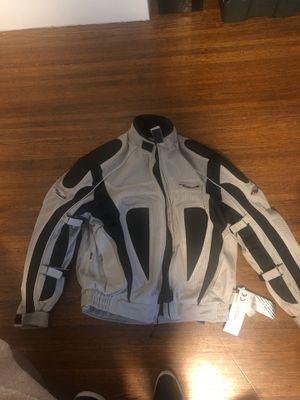 Motorcycle jacket men's size large brand new with tags never worn for Sale in San Francisco, CA