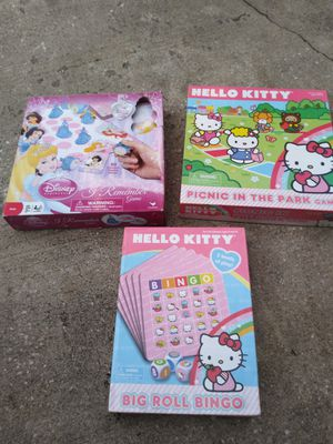 Girls lot of 3 Games $10 for Sale in Orlando, FL