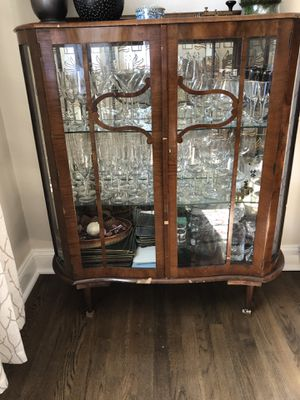 Art Deco antique cabinet - some damage but still worth it! for Sale in Bethesda, MD