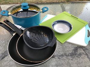 Dishes, Kitchen tools & Garbage can for Sale in San Leandro, CA