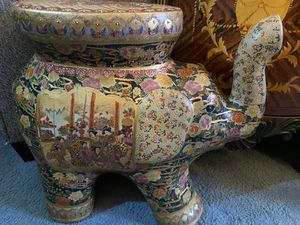 Hand Painted Porcelain Elephant for Sale in Carlisle, PA