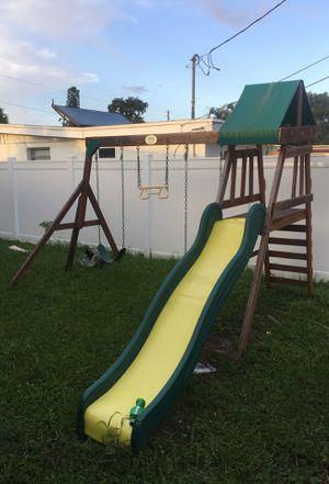 Backyard swing set for Sale in Seminole, FL