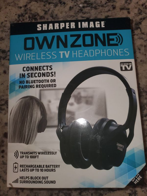 wireless tv. Headphones