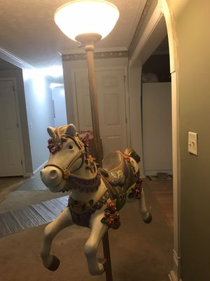 Carousel Horse Floor Lamp for Sale in Winterville, NC