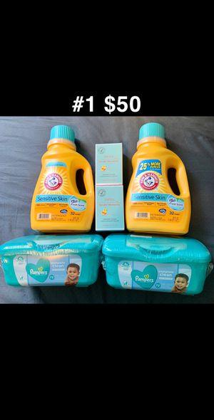 Jafra para bebe con Pamper wipes y detergente para piel sensitiva for Sale in Grand Prairie, TX
