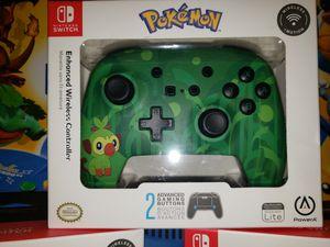 Pokemon Enhance Wireless Controller for Nintendo Switch for Sale in Pumpkin Center, CA
