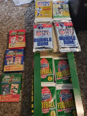 Nfl card lot for Sale in Carson, CA