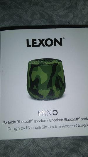 Lexon Mino Portable Bluetooth speaker for Sale in Seattle, WA
