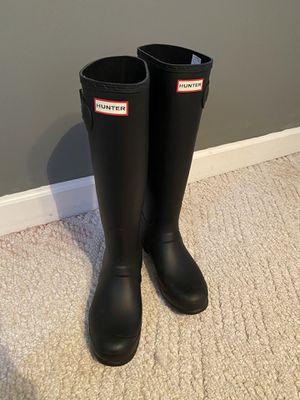 Hunter rain boots for Sale in Walnut Cove, NC